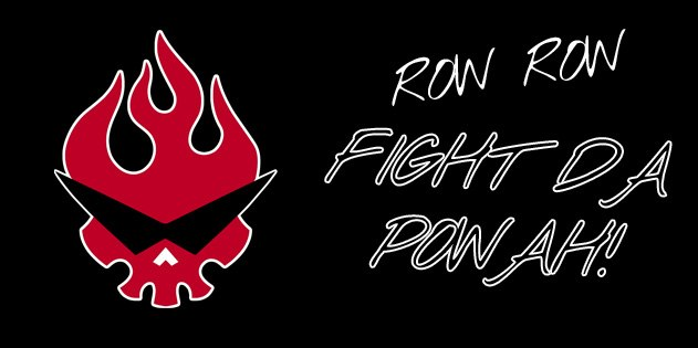 Row Row Fight The Power! Gurren Lagann